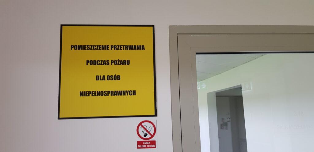 pomieszczenie dla osób niepełnosprawnych nastadionie