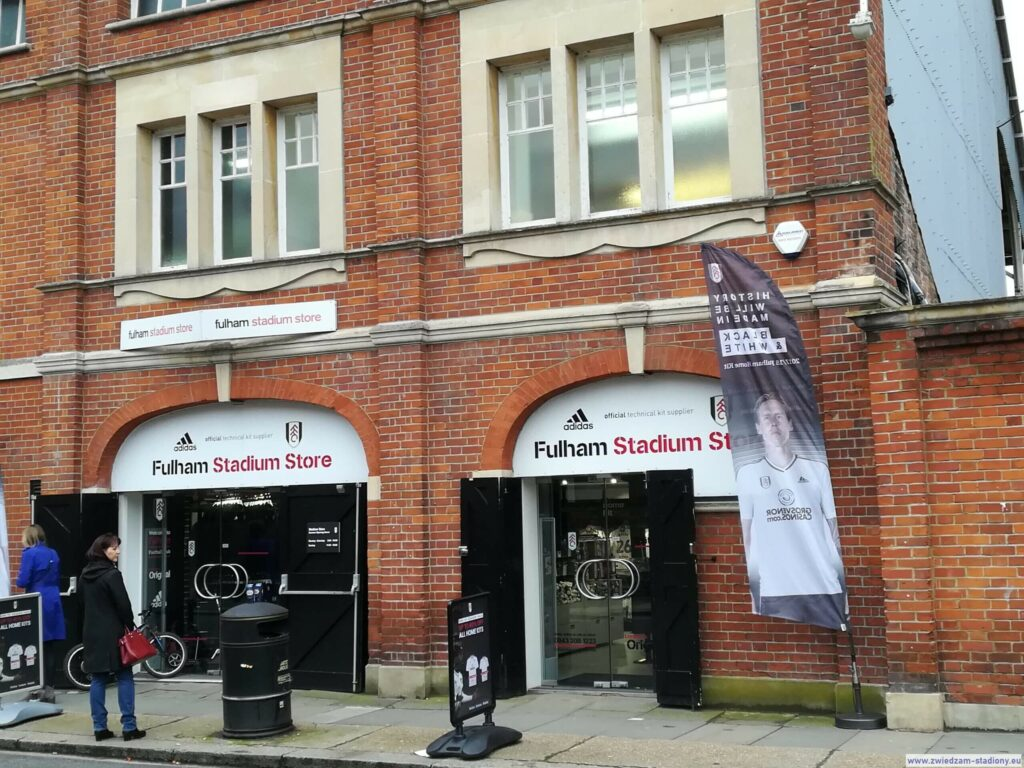 witryna sklepu Fulham Londyn