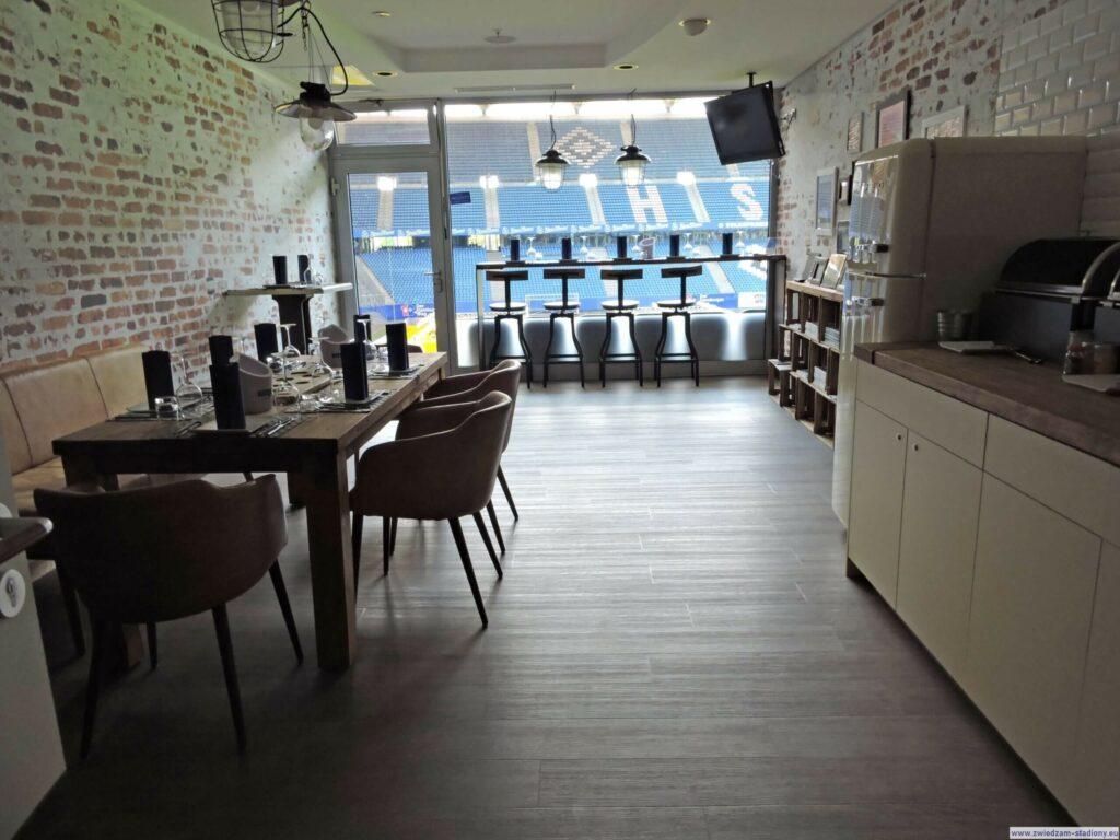 bar w loży biznes HSV