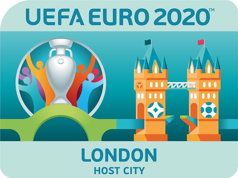 Ulotka Londyn gospodarz Euro 2020