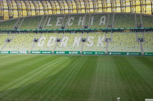 Trybuna stadionu Arena Gdańs