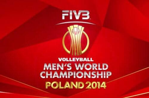 logo federacji siatkarskiej FIBA na MŚ Poland 2014