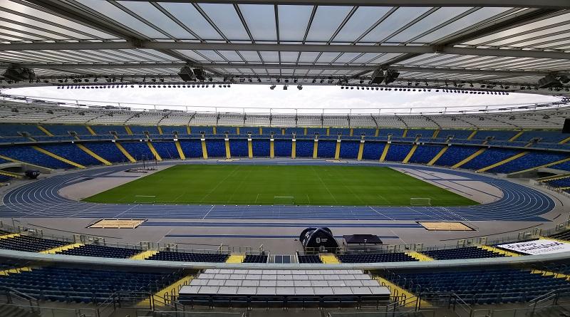 Widok na stadion śląski