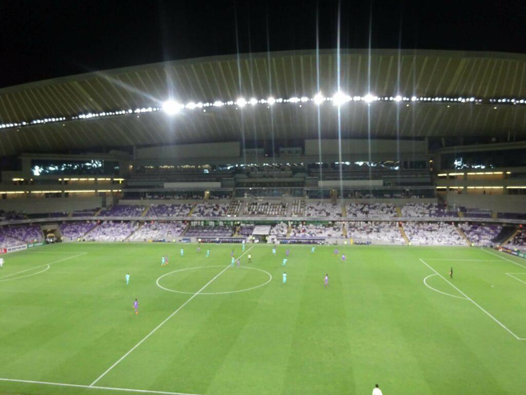 polak na stadionach i stadion ligowy