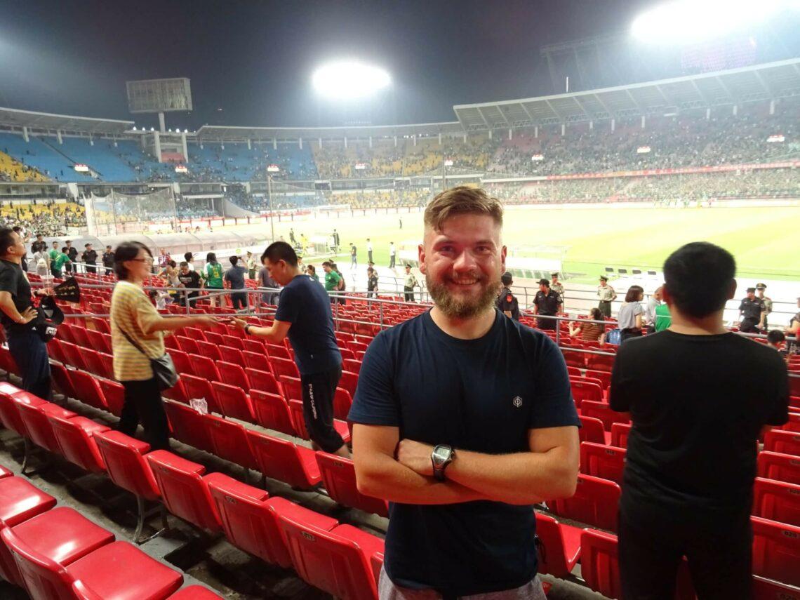 polak na stadionach na lidze chińskiej