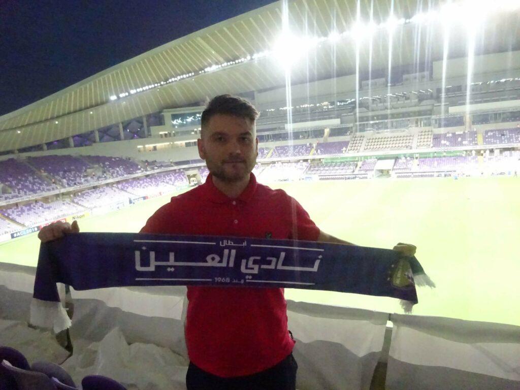 polak na stadionach w Abu Dhabi