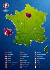zakwaterowanie drużyn naEURO 2016