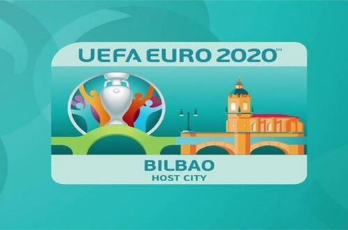Ulotka Gospodarz Euro 2020 Bilbao staddon San Mamés Barria