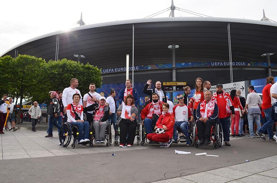 delegacja KKN na EURO 2016 w Saint Denis