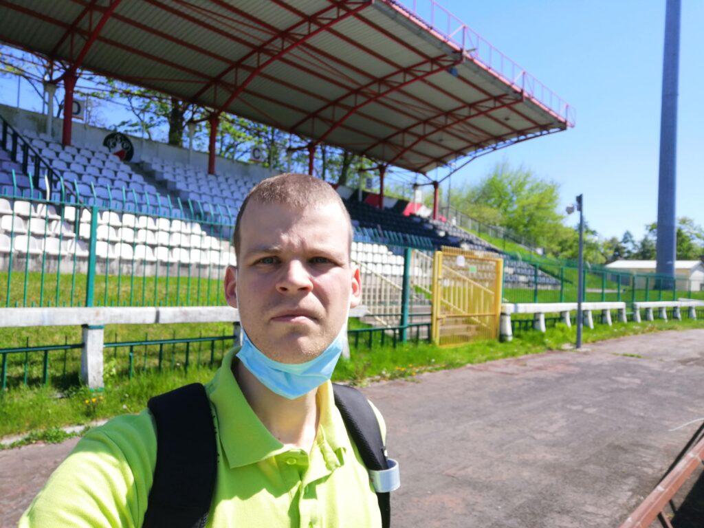 autor bloga na stadionie polonii warszawa