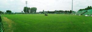 panorama stadionu w grodzisku