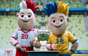 slawek i slavko maskotki euro 2012